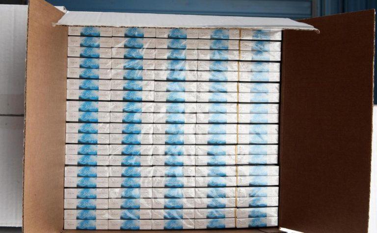 Ηγουμενίτσα: Μεγάλη ποσότητα λαθραίων τσιγάρων μετέφερε Ρουμάνος με το φορτηγό του   Newsit.gr