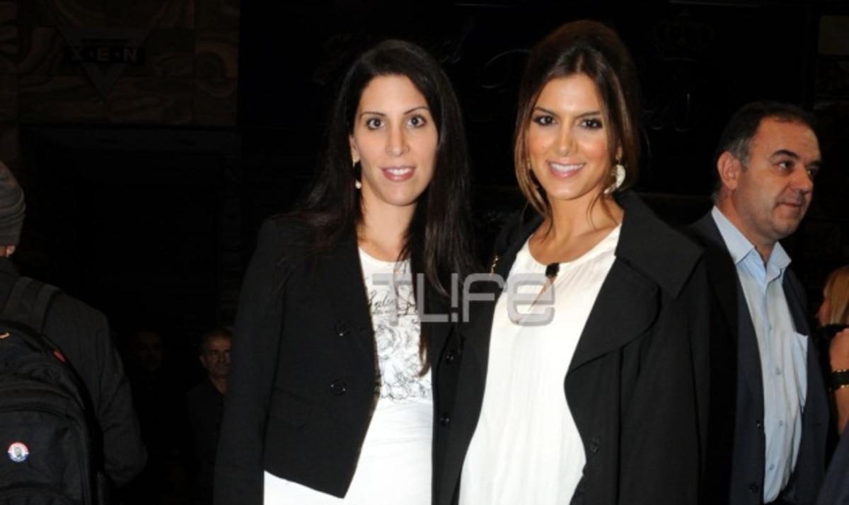 Σ. Τσιμτσιλή: Στο θέατρο με την αδερφή της Μαίρη!   Newsit.gr