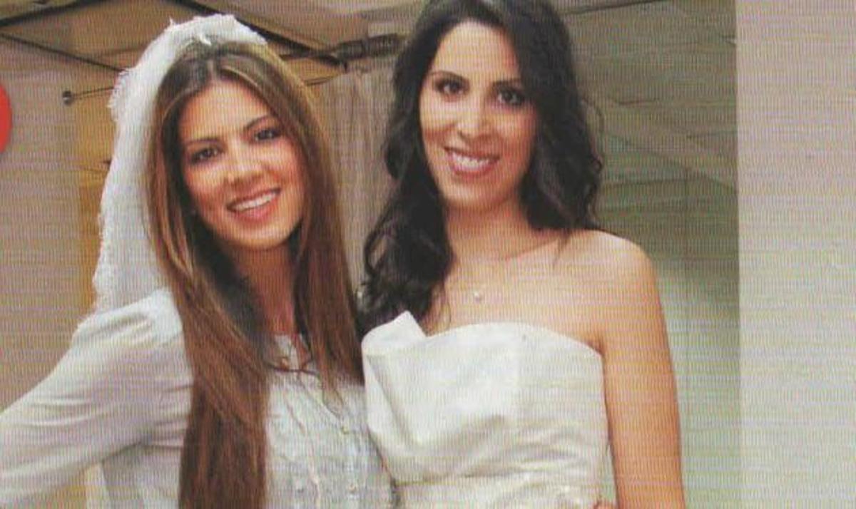 Σ. Τσιμτσιλή: Στην πρόβα νυφικού της αδελφής της! | Newsit.gr