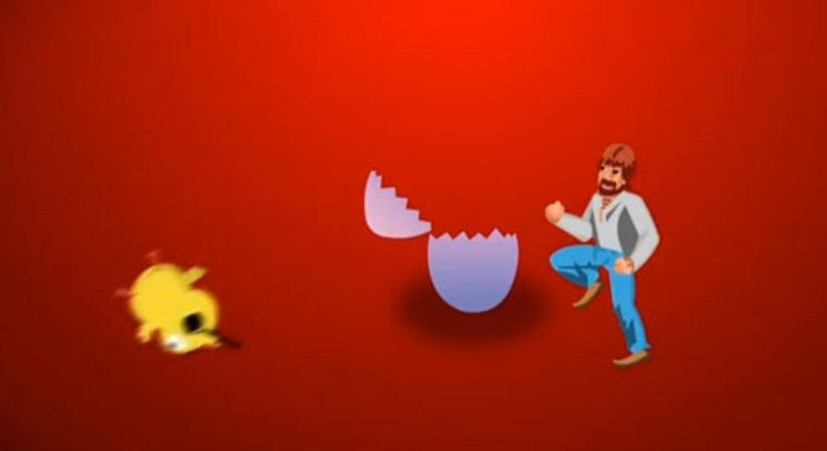 Ο Τσακ Νόρις έσωσε τον κόσμο από το Πουλάκι Τσίου! – video | Newsit.gr