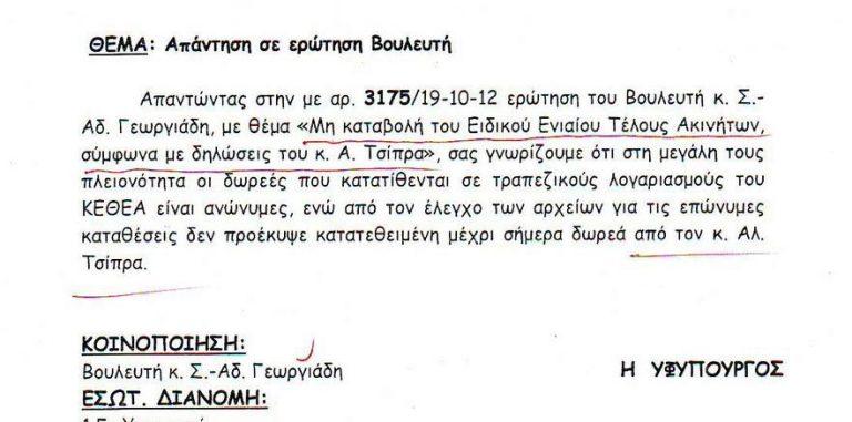 Άδωνις Γεωργιάδης: Ο Τσίπρας όχι μόνο δεν πλήρωσε το χαράτσι αλλά δεν έδωσε και τα χρήματα στο ΚΕΘΕΑ | Newsit.gr