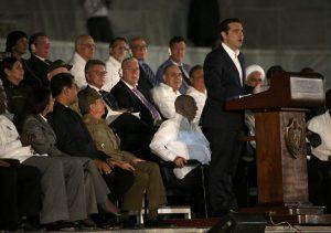 Τσίπρας: Hasta la victoria siempre – Ο επικήδειος του Πρωθυπουργού για τον Φιντέλ Κάστρο [vid]