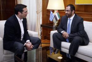 Τσίπρας: Υποδέχτηκε τον υπουργό Επικρατείας των Ηνωμένων Αραβικών Εμιράτων [pics]