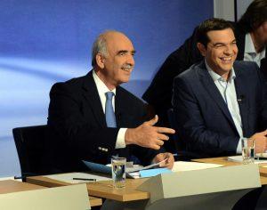 Debate – Εκλογές 2015: Ο Τσίπρας, ο Μεϊμαράκης και οι… κόκκινες κάρτες τους!