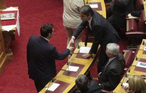 Εκλογές ΝΔ: Συγχαρητήρια Τσίπρα σε Μητσοτάκη – Αποφάσισαν να συναντηθούν άμεσα