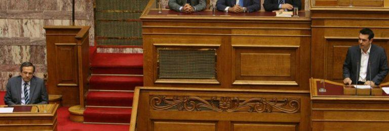 Σαμαράς: «Θα σας ζητάω την άδεια για να μιλήσω στο εξωτερικό» – Απάντηση Τσίπρα: «Ναι να το κάνετε» | Newsit.gr