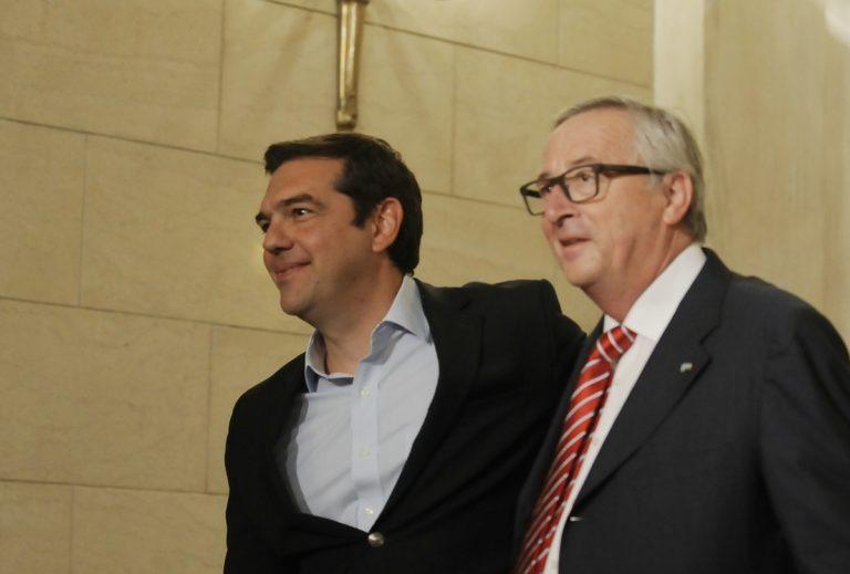 Τηλεφωνική επικοινωνία Τσίπρα – Γιούνκερ | Newsit.gr