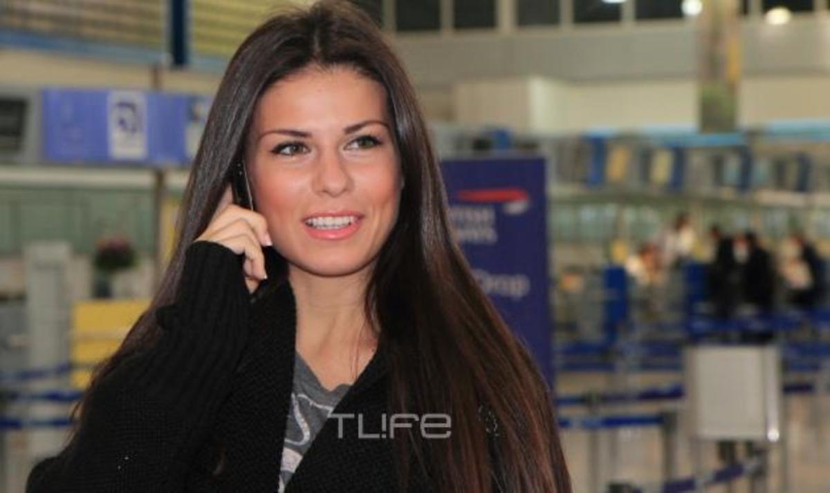 Β. Τσιρογιάννη: Αναχώρησε για το Λας Βέγκας η Σταρ Ελλάς! Φωτογραφίες από το αεροδρόμιο | Newsit.gr