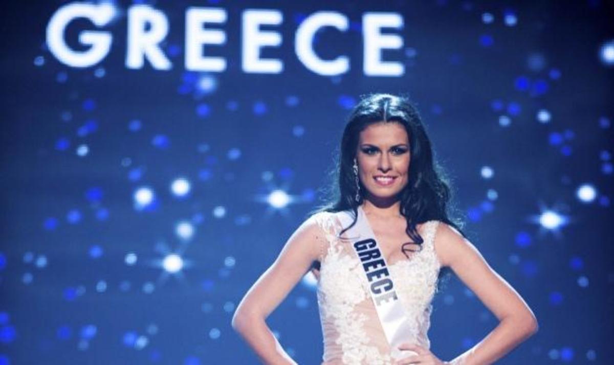 Β. Τσιρογιάννη: Εντυπωσιακή εμφάνιση στο χθεσινό διαγωνισμό Miss Universe! Φωτογραφίες | Newsit.gr
