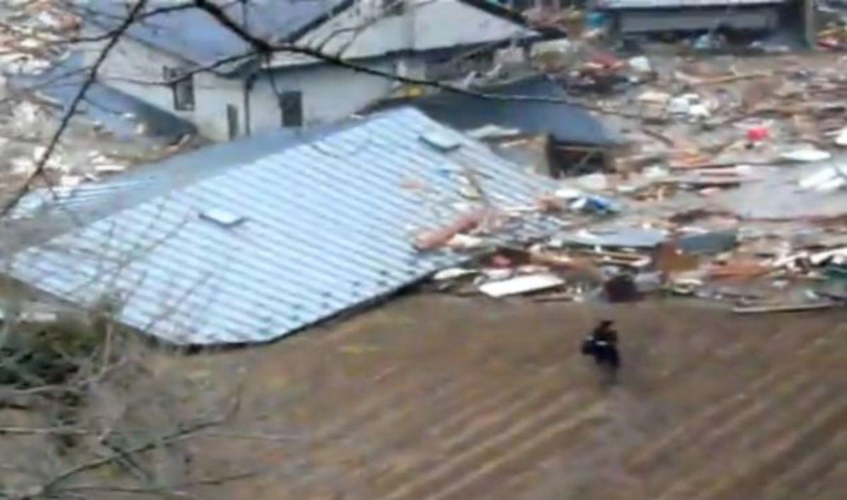 Η τελευταία προσπάθεια να σωθούν από το τσουνάμι – Συγκλονιστικό βίντεο και ΦΩΤΟ | Newsit.gr
