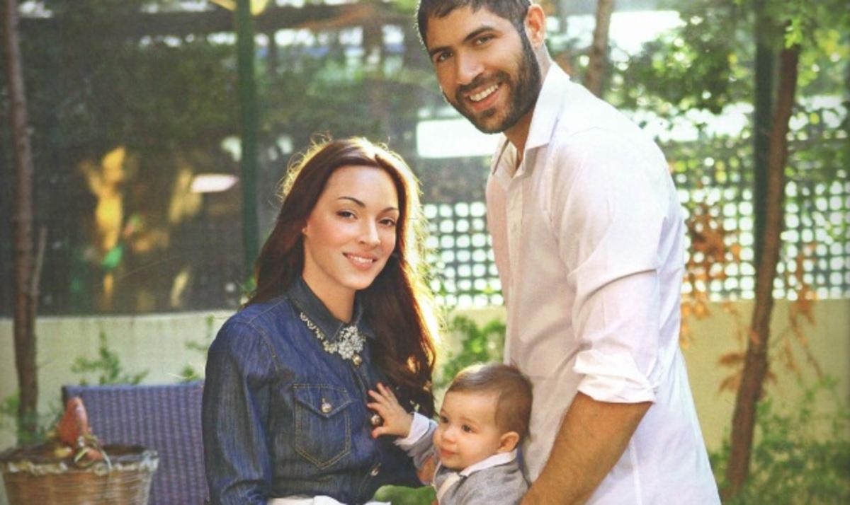Π. Βασιλόπουλος – Μ. Τσουρή: Φωτογραφίζονται για πρώτη φορά με τον 8 μηνών γιο τους! | Newsit.gr
