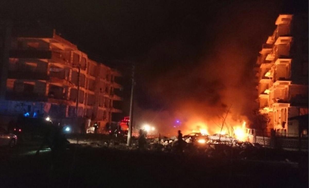 Μεγάλη έκρηξη στην Τουρκία: Ένας 3χρονος νεκρός  [pics, vid] | Newsit.gr
