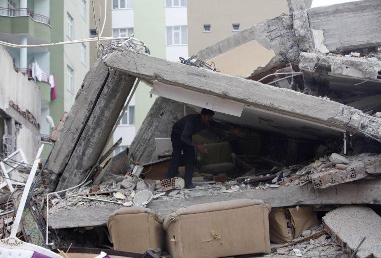 Η ώρα που σείστηκε η γη στην Τουρκία – Video που κόβουν την ανάσα | Newsit.gr