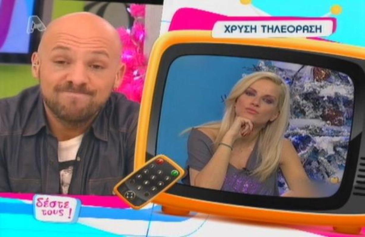 Η »χρυσή τηλεόραση»… στην Μ. Μπεκατώρου! | Newsit.gr