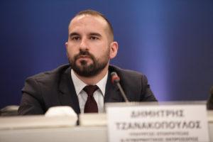 """Τζανακόπουλος: """"Δεν ξέρουμε αν θα έχουμε συμφωνία στο Eurogroup"""""""