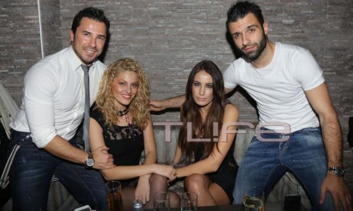 Στ. Γιαμπουρά: Έκανε Πρωτοχρονιά στο cafe-bar του πρώην της, Γ. Τζαβέλλα! | Newsit.gr