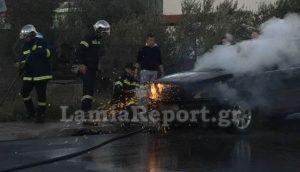 Λαμία: Έσωσαν τον ανάπηρο οδηγό που εγκλωβίστηκε μέσα σε αυτό το αυτοκίνητο [pics]