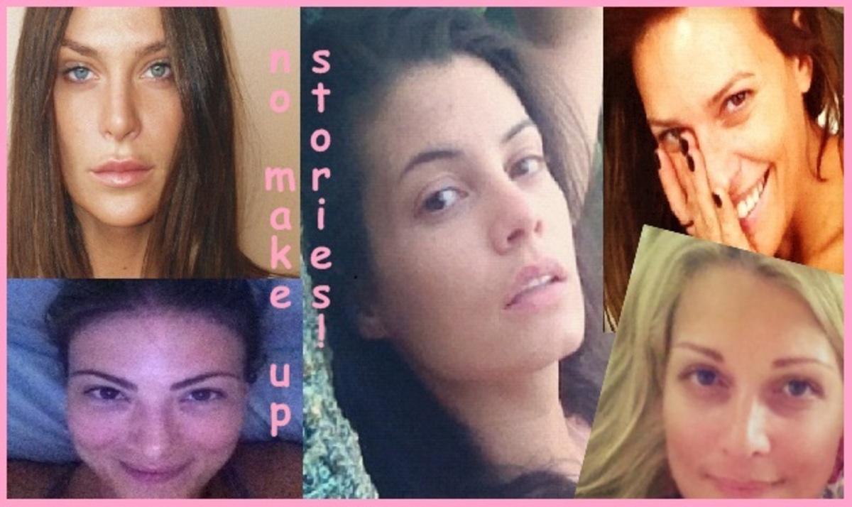 Ελληνίδες celebrities ποζάρουν χωρίς ίχνος μακιγιάζ και μας αρέσουν πολύ!   Newsit.gr