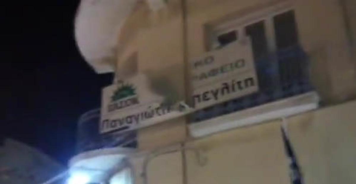 Κορινθία: Τι λέει ο Μπεγλίτης για την επίθεση στο πολιτικό του γραφείο | Newsit.gr