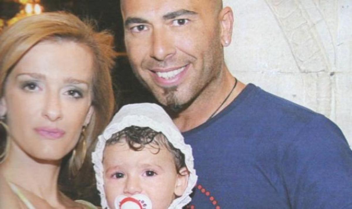 Βαλάντης: Βάφτισε την κόρη του στην Ρόδο! Φωτογραφίες   Newsit.gr