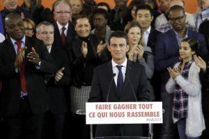 Ο Βαλς ανακοίνωσε ότι θα είναι υποψήφιος για τις προεδρικές εκλογές στη Γαλλία