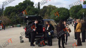 Ομπάμα στην Αθήνα: Με βανάκια η μετακίνηση δημοσιογράφων [pics, vid]