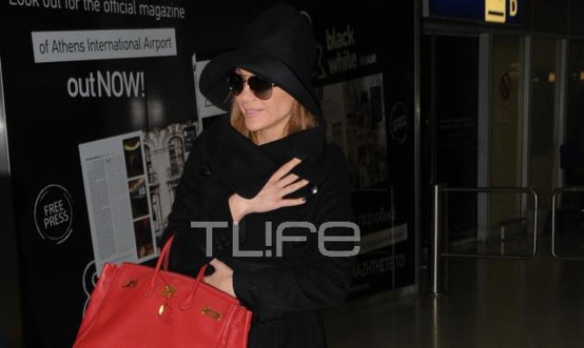 Δ. Βανδή: Ταξίδι αστραπή στη Θεσσαλονίκη! To TLIFE τη συνάντησε στο αεροδρόμιο | Newsit.gr
