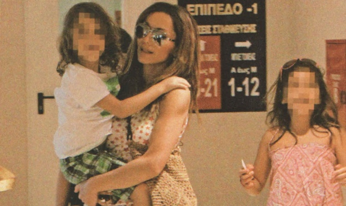 Δ. Βανδή: Στα μαγαζιά με τα παιδιά της!   Newsit.gr