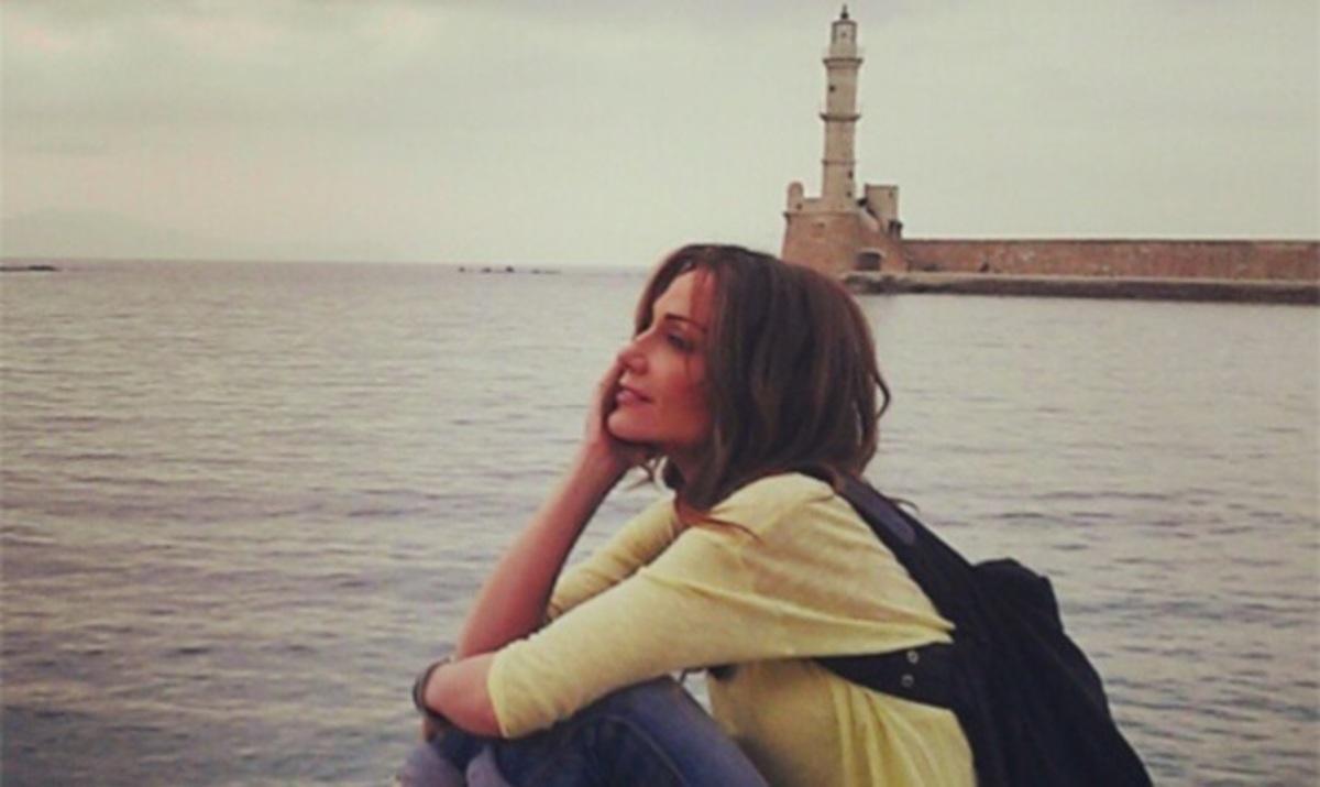 Δέσποινα Βανδή: Όμορφες στιγμές στην Κρήτη! | Newsit.gr
