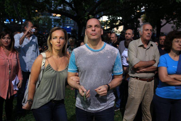 Γιάνης Βαρουφάκης – Δανάη Στράτου… χαλαροί στη γιορτή της ΕΡΤ! (ΦΩΤΟ) | Newsit.gr