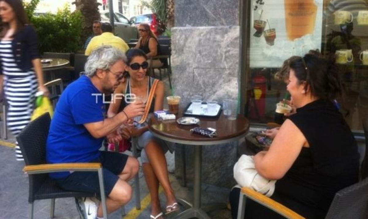 Α. Βαρδής: Κρουαζιέρα στην Κρήτη με την σύντροφό του! Φωτογραφίες | Newsit.gr
