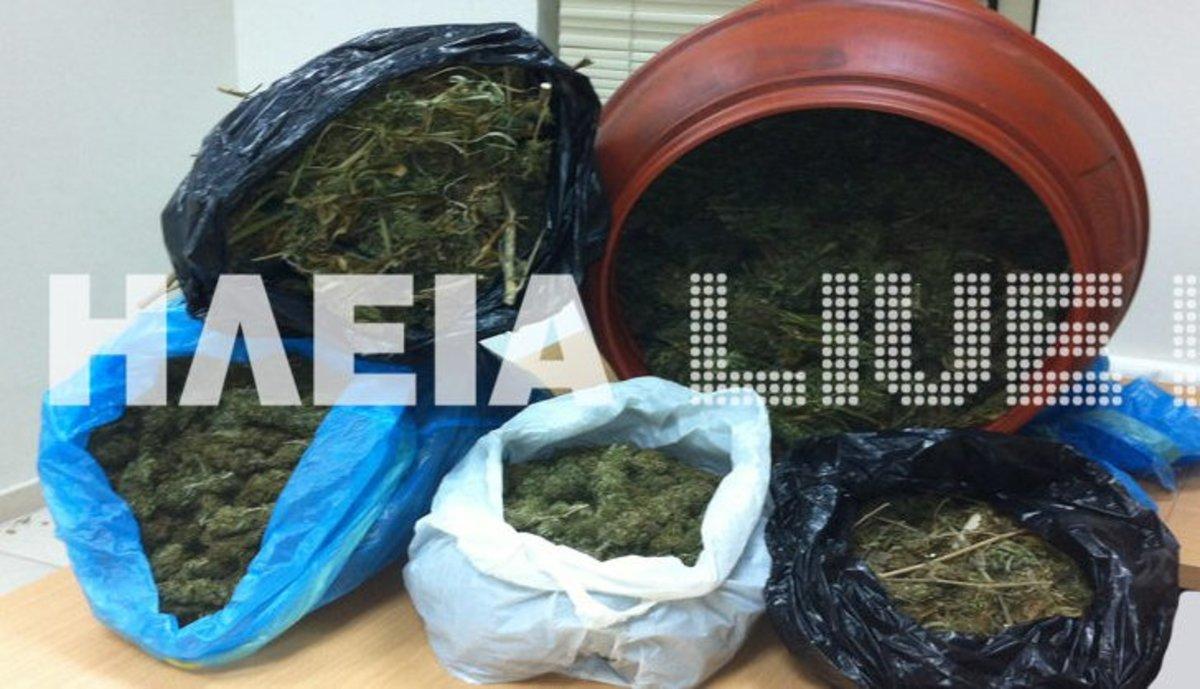 Ηλεία: Έκρυβαν τη φούντα στο βαρέλι!   Newsit.gr