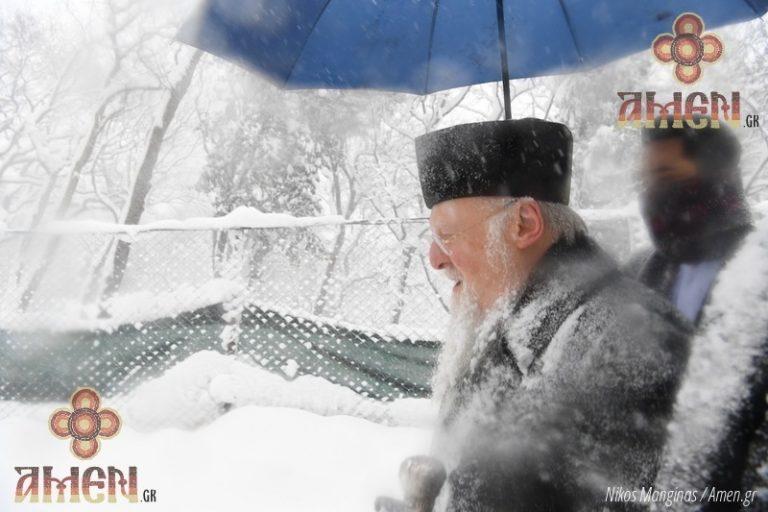 «Πάγωσε» ο πατριάρχης Βαρθολομαίος – Απίστευτες εικόνες   Newsit.gr