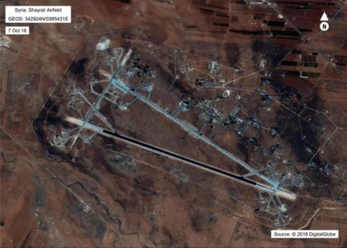 Γιατί οι ΗΠΑ χτύπησαν την συριακή αεροπορική βάση Σαϋράτ στην Χομς | Newsit.gr