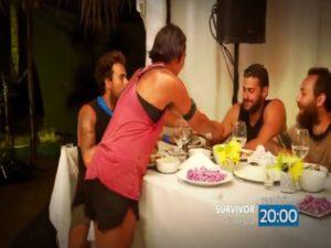 Survivor: Ελληνοτουρκικός έρωτας και χαστούκι! Κωνσταντίνος Βασσάλος – Sabriye Şengül [vid]