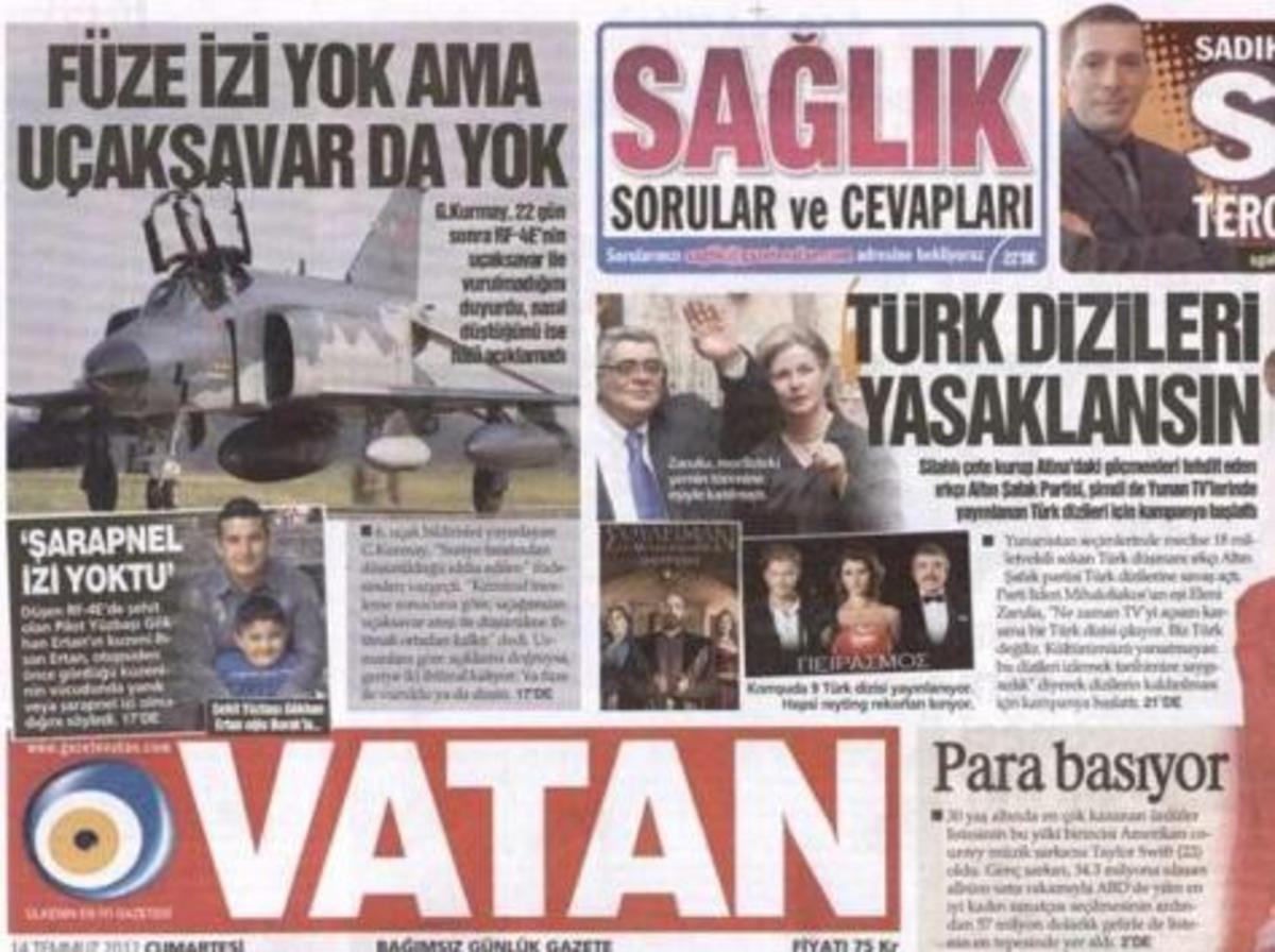 Eπίθεση στη Χρυσή Αυγή απο την τούρκικη εφημερίδα Vatan | Newsit.gr