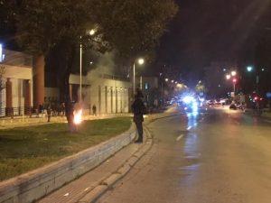 Γρηγορόπουλος: Επεισόδια με… βεγγαλικά και στη Θεσσαλονίκη [vid]