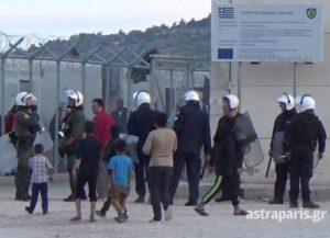 Χίος: 13 συλλήψεις για τα επεισόδια