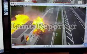 Τροχαίο στην Αθηνών – Λαμίας: Έρευνα για τη διαρροή του ανατριχιαστικού βίντεο!
