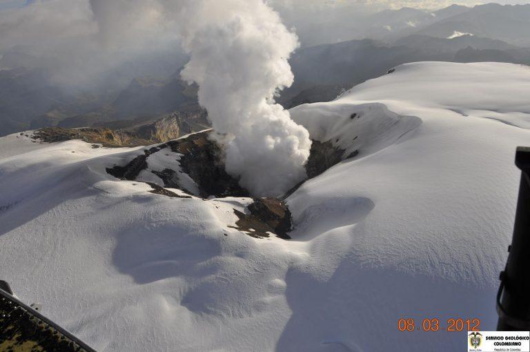 Έκρηξη ηφαιστείου στην Κολομβία – Εκκενώνονται περιοχές   Newsit.gr