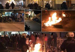 Πολυτεχνείο: Συγκρούσεις δίχως τέλος στο Βόλο [pics]