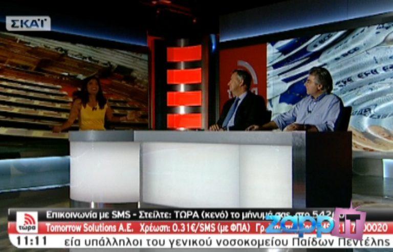Έσβησαν τα φώτα όταν η Πόπη Τσαπανίδου υποδέχτηκε τον Μάκη Βορίδη | Newsit.gr