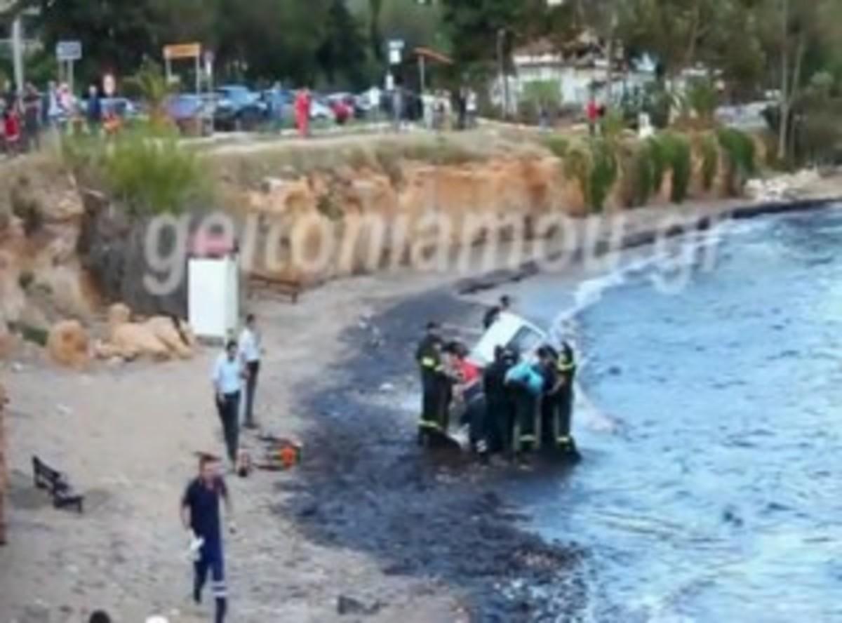 Έχασε τον έλεγχο κι έπεσε στη θάλασσα! ΦΩΤΟ και VIDEO | Newsit.gr