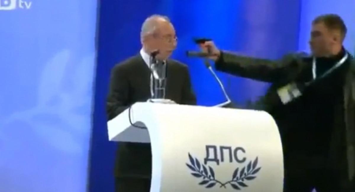 Απόπειρα δολοφονίας πολιτικού μπροστά στην κάμερα! (ΒΙΝΤΕΟ) | Newsit.gr