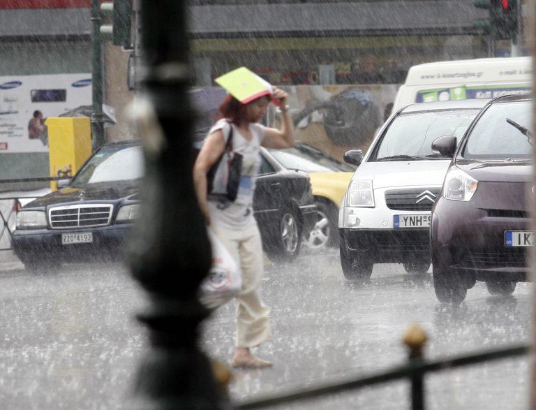 Μετά τον καύσωνα έρχονται βροχές και καταιγίδες! Αλλάζει ο καιρός   Newsit.gr