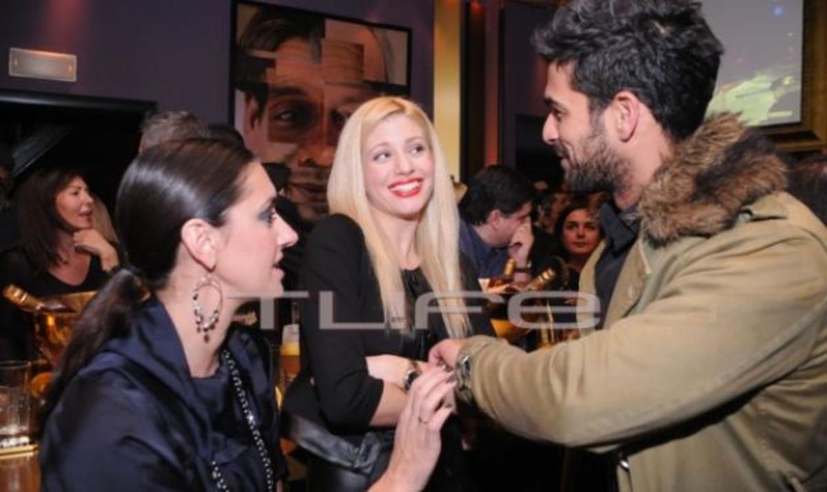 N. Αναδιώτης – Ευαγγ. Αραβανή: Συνάντηση σε πάρτυ μαζί και με άλλους celebrities! | Newsit.gr