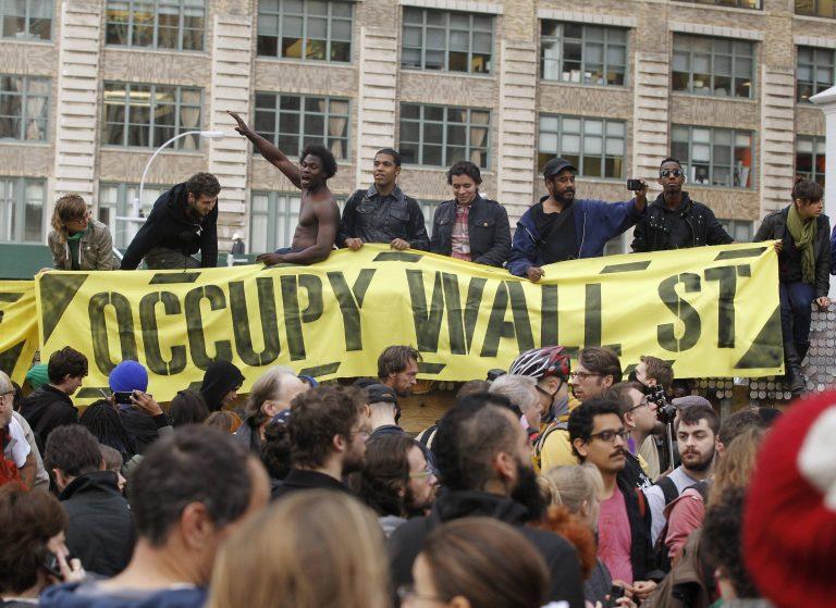 Οι διαδηλωτές του Occupy Wall Street… μετακόμισαν   Newsit.gr