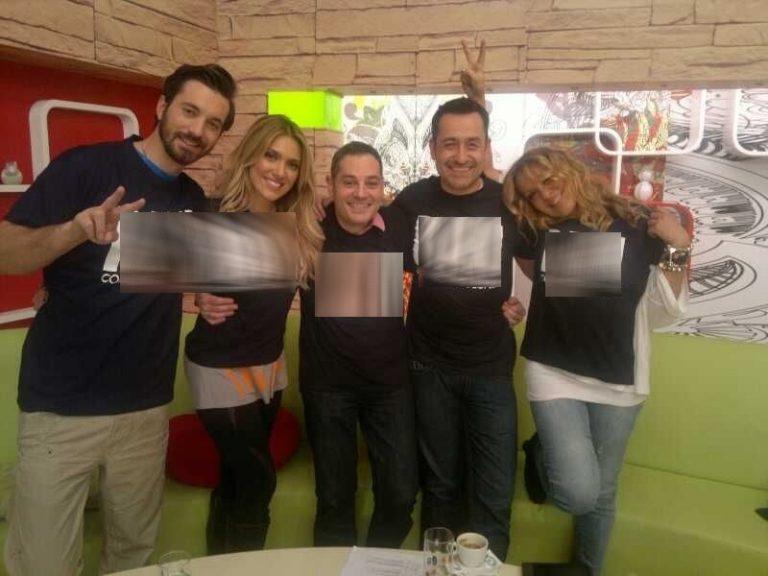 Τι έγραφαν τα μπλουζάκια που φόρεσαν μετά το τέλος της εκπομπής; | Newsit.gr