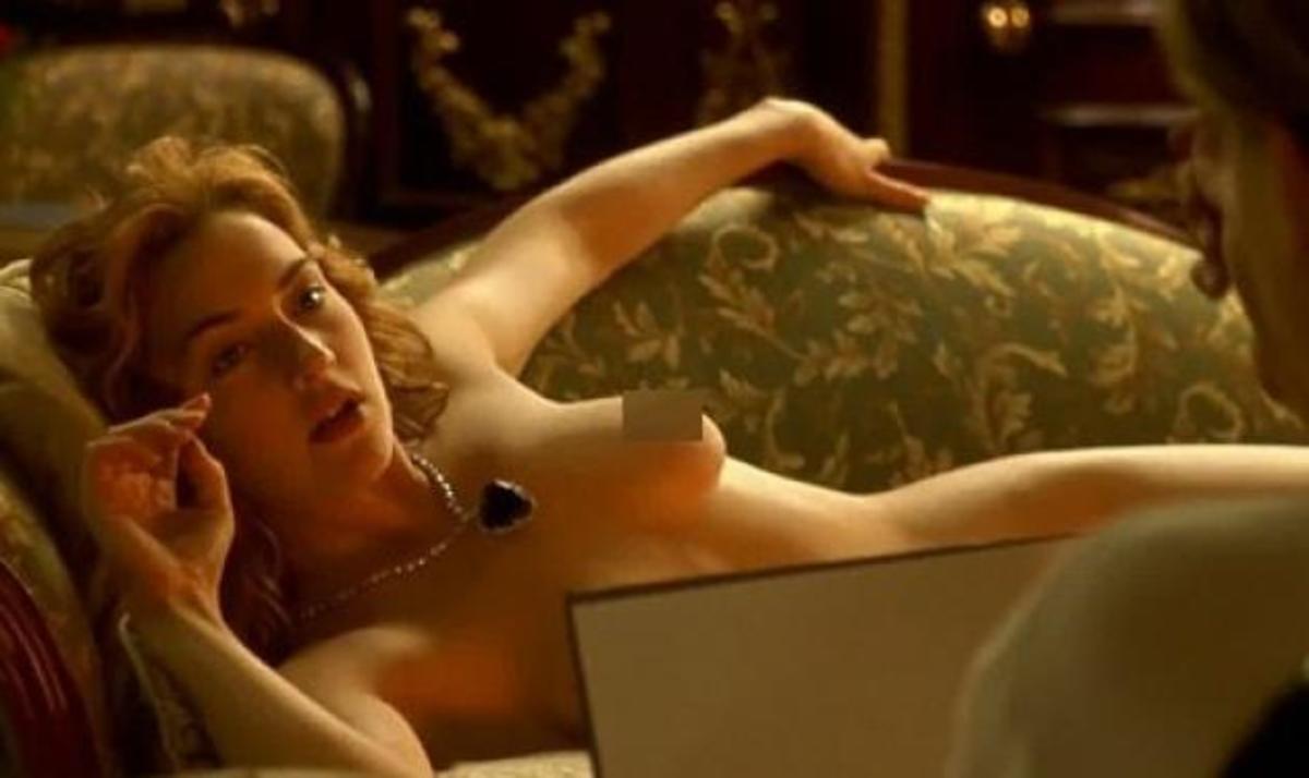 Έκοψαν τη γυμνή σκηνή της Kate Winslet από τον Τιτανικό!   Newsit.gr