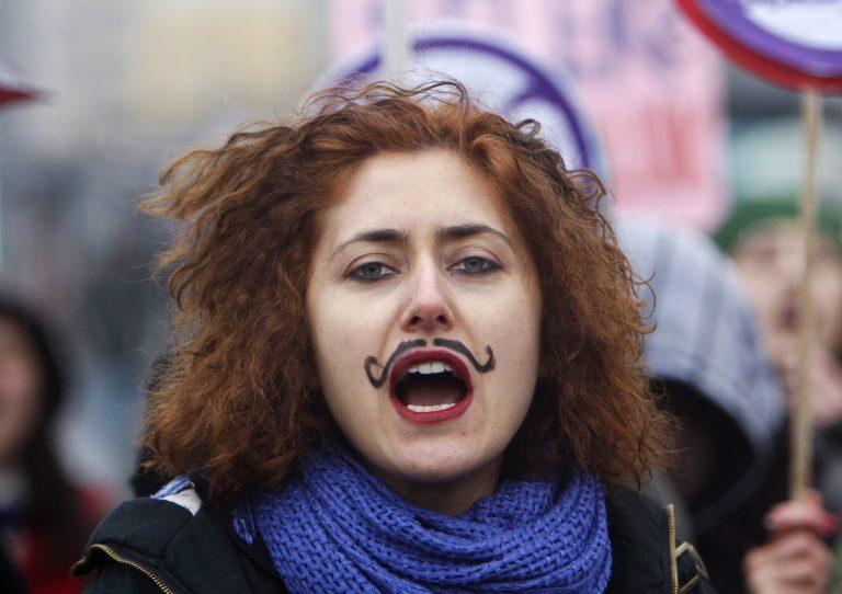 Διαδήλωσαν για την Ημέρα της Γυναίκας   Newsit.gr